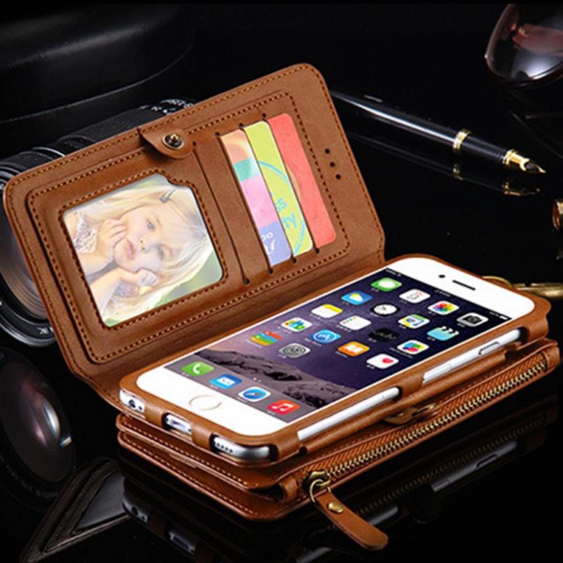 Baker Wallet Phone Case For Iphone X Xs Max6 6s 7 8 Plus X  Lite Handbag Case Coque