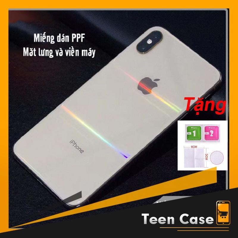 Miếng dán skin PPF full viền chống xước cho iphone 6 6s 7 8 6 plus 6s plus 7 Plus 8 Plus X Xr XsMax 11 11 pro 11 pro m