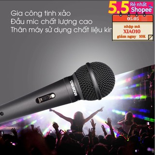 (FREESHIP)TẶNG CÁP IPHONE Mic Karaoke có dây Takstar Pro-38