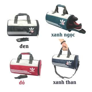 Túi trống tập gym túi thể thao có ngăn đựng giày phối màu sang trọng