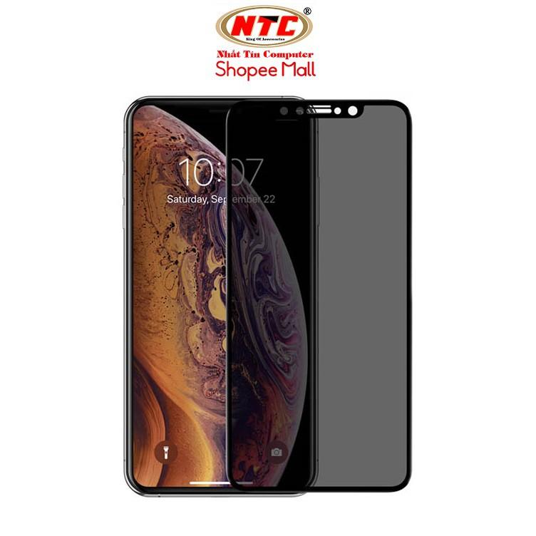 Kính cường lực chống nhìn trộm 9D Full màn hình NTC cho iPhone từ 7 đến 12