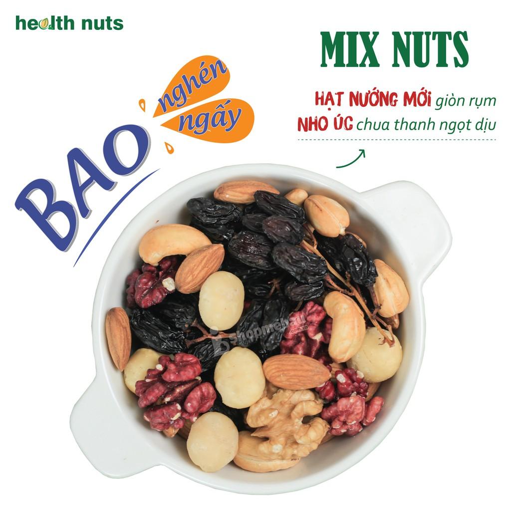 [Mã GROMS25 giảm 8% đơn 199K] Mix Nuts 6 hạt tách vỏ (Nướng chín giòn ngon)