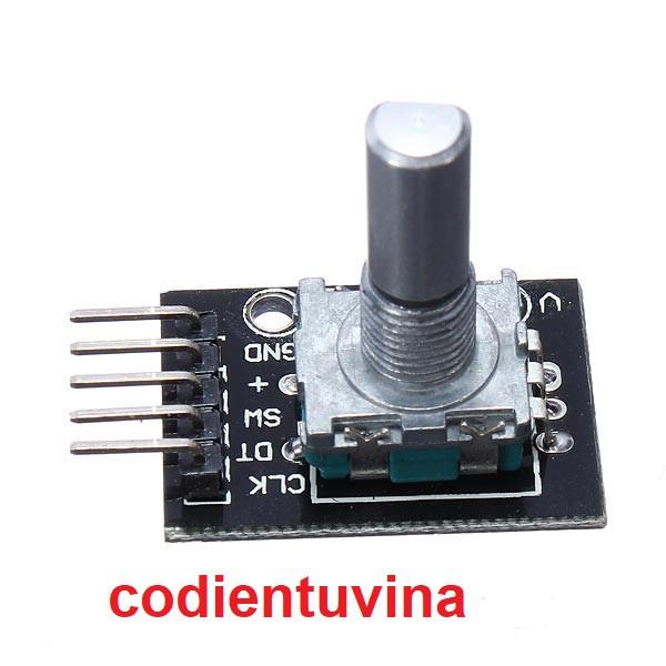 Mạch Encoder cho Arduino (Module Rotary Encoder for Arduino)