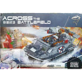 Lego XingBao Lắp Ráp Tàu Chiến Quân Sự ( 588 Mảnh )