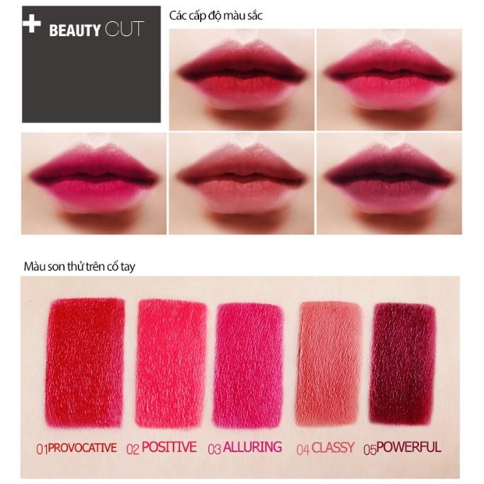 Son lì Bbia Last Lipstick Version 1 3.5g (5 Màu)