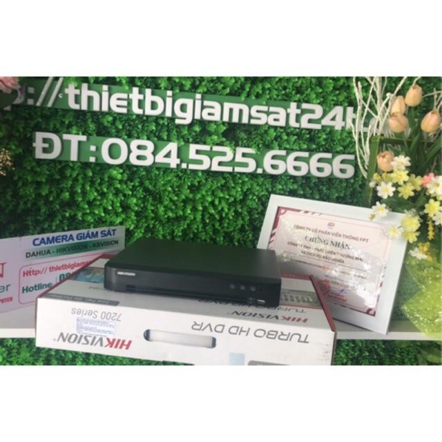 Đầu ghi 8 kênh Hikvision DS - 7208HQHI-K1 HDTVI H.265+