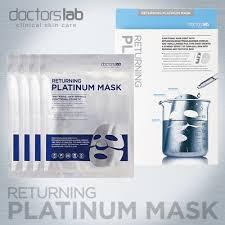 Hộp mặt nạ Returning Platinum Mask 4 miếng