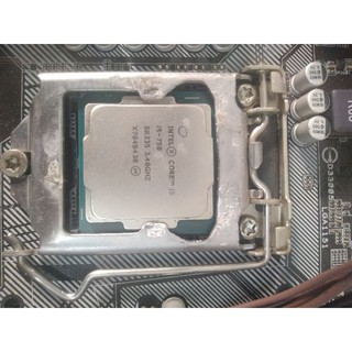 Cpu intel i5 7500 đang dùng.