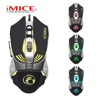 Mouse Gaming IMICE V5 Dây dù - Led 7 màu thumbnail