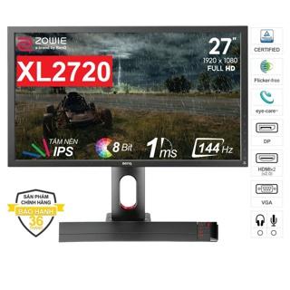 Màn hình BenQ Zowie XL2720 27 inch Full HD 1920 x 1080 1ms 144Hz TN -Hàng Chính Hãng thumbnail