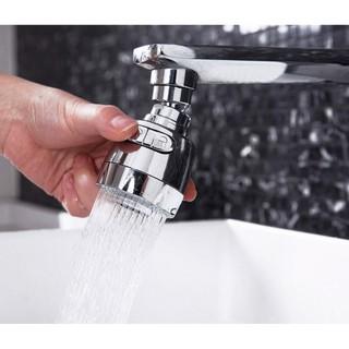 Đầu Tăng Áp cho vòi rửa chén rửa bát loại mới- (ĐẦU VÒI LOẠI TỐT)) Tăng Áp Lực Nước 2 Chế Độ Phun xoay 360 độ ,thiết kế thumbnail