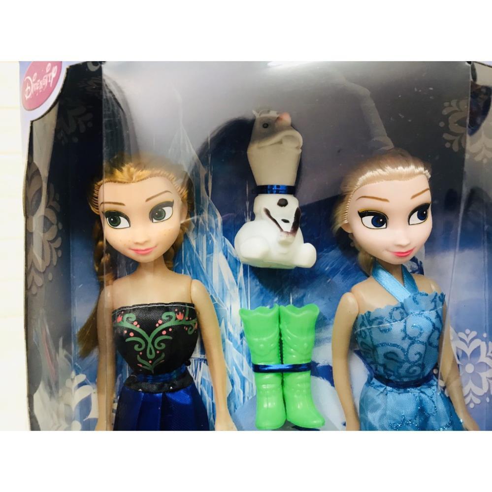 ĐỒ CHƠI BÚP BÊ ELSA VÀ ANNA CÙNG NGƯỜI TUYẾT OLAF giá cạnh tranh