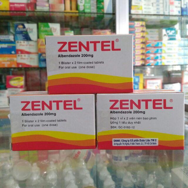 Tẩy giun sán ZENTEL 200MG chính hãng - 2599766 , 632736517 , 322_632736517 , 14000 , Tay-giun-san-ZENTEL-200MG-chinh-hang-322_632736517 , shopee.vn , Tẩy giun sán ZENTEL 200MG chính hãng