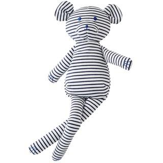 Gấu teddy sọc xanh PETIT BATEAU