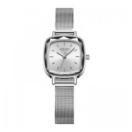 Đồng hồ nữ Julius Hàn Quốc JA-1148A dây thép (Bạc)