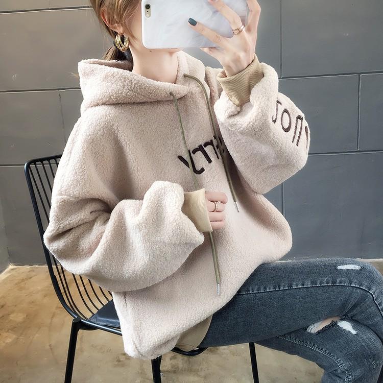 áo hoodie nữ kiểu dáng thời trang phong cách - 22270118 , 7008184221 , 322_7008184221 , 393600 , ao-hoodie-nu-kieu-dang-thoi-trang-phong-cach-322_7008184221 , shopee.vn , áo hoodie nữ kiểu dáng thời trang phong cách