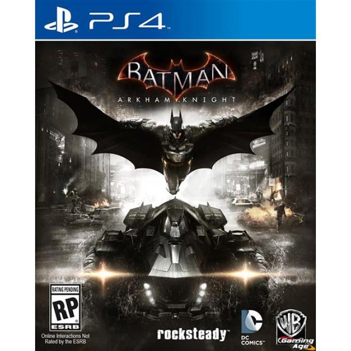 Đĩa game PS4 Batman: Arkham Knight