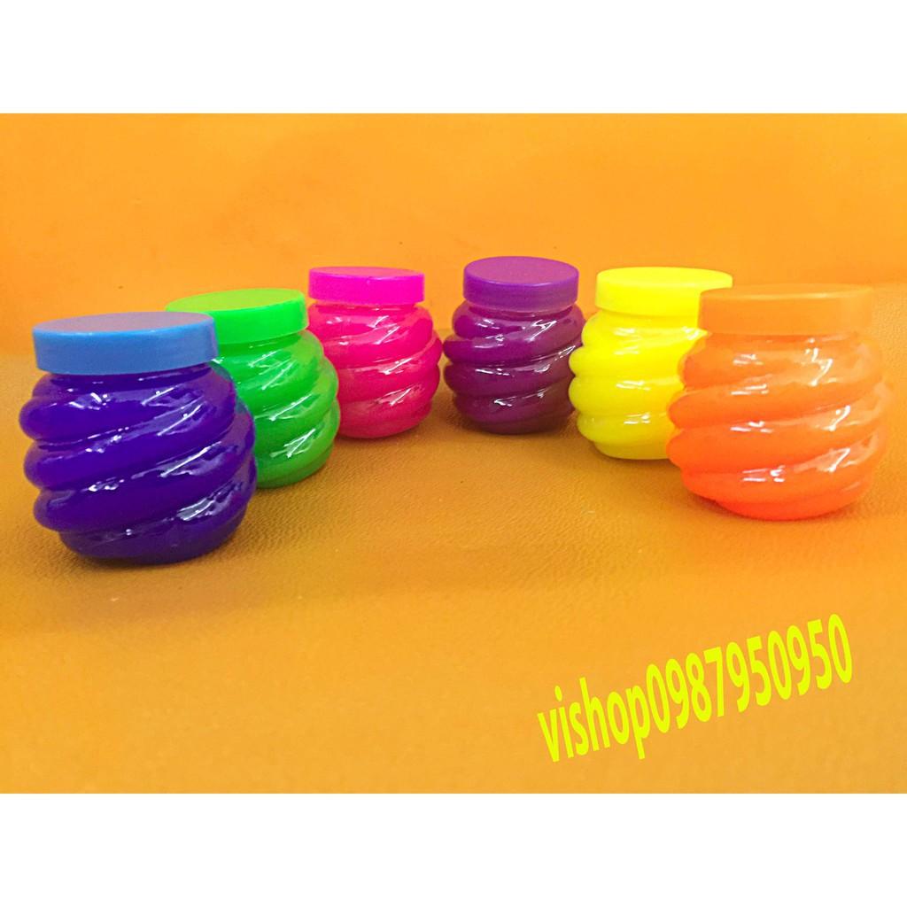 đồ chơi slime lọ hình dứa - chất nhờn lỏng mã VUC41 Hgiá như sỉ