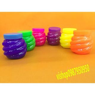 đồ chơi slime lọ hình dứa – chất nhờn lỏng mã NEW33 N10 in 1