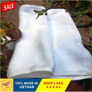 [RẺ VÔ ĐỊCH] Khăn bông rửa mặt khăn mặt trắng khách sạn - 30cmx45cm (60g) thumbnail