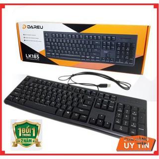 Bàn phím DAREU LK185 – Phím mỏng – Sản phẩm lý tưởng cho văn phòng !