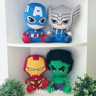 Siêu anh hùng Marvel nhồi bông Captain America Hulk Thor Ironman Spiderman