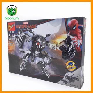 Lego Spider Man 217+ Mảnh Ghép Người Nhện Xa Nhà
