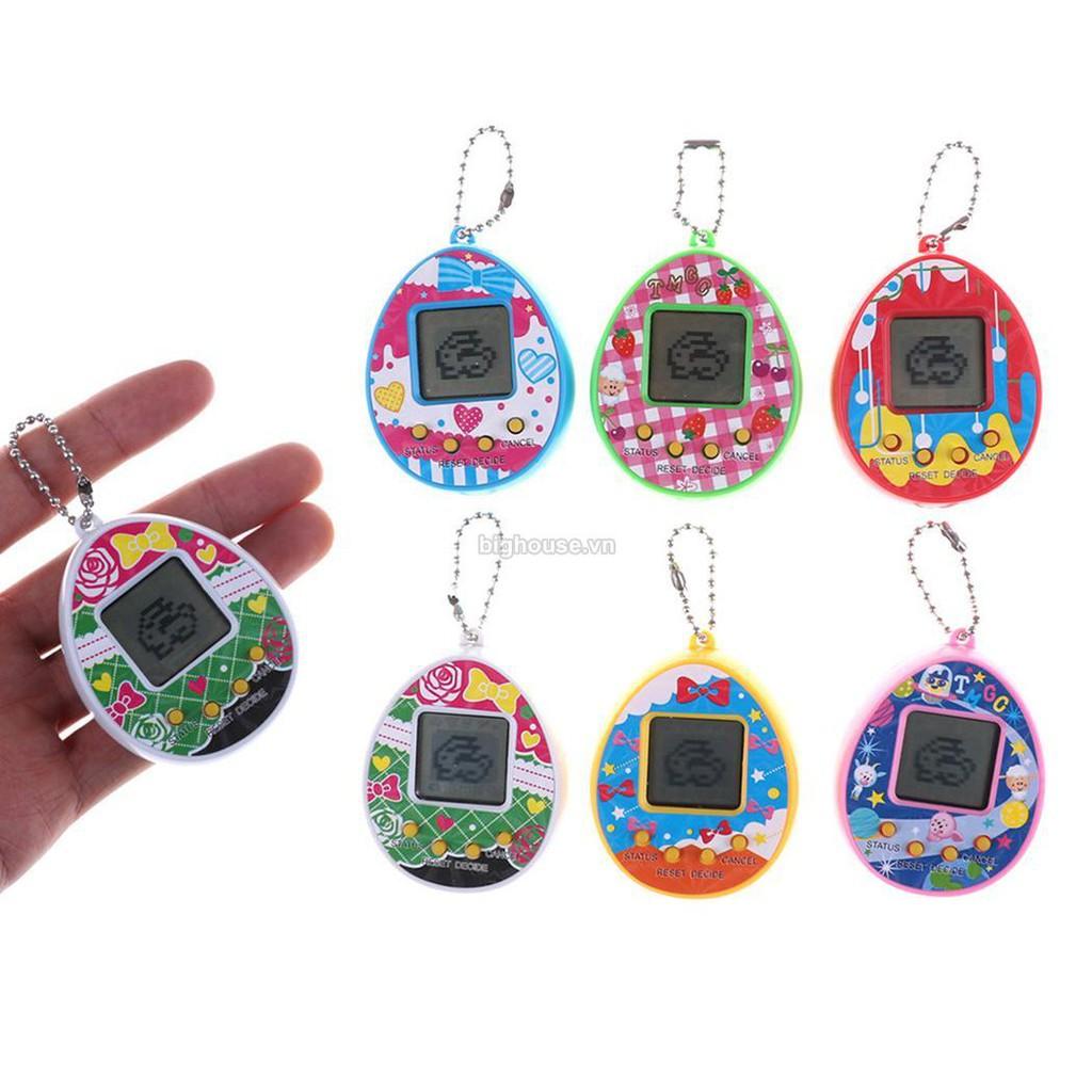 Máy chơi game nuôi thú ảo Tamagotchi nhiều màu Yviễn