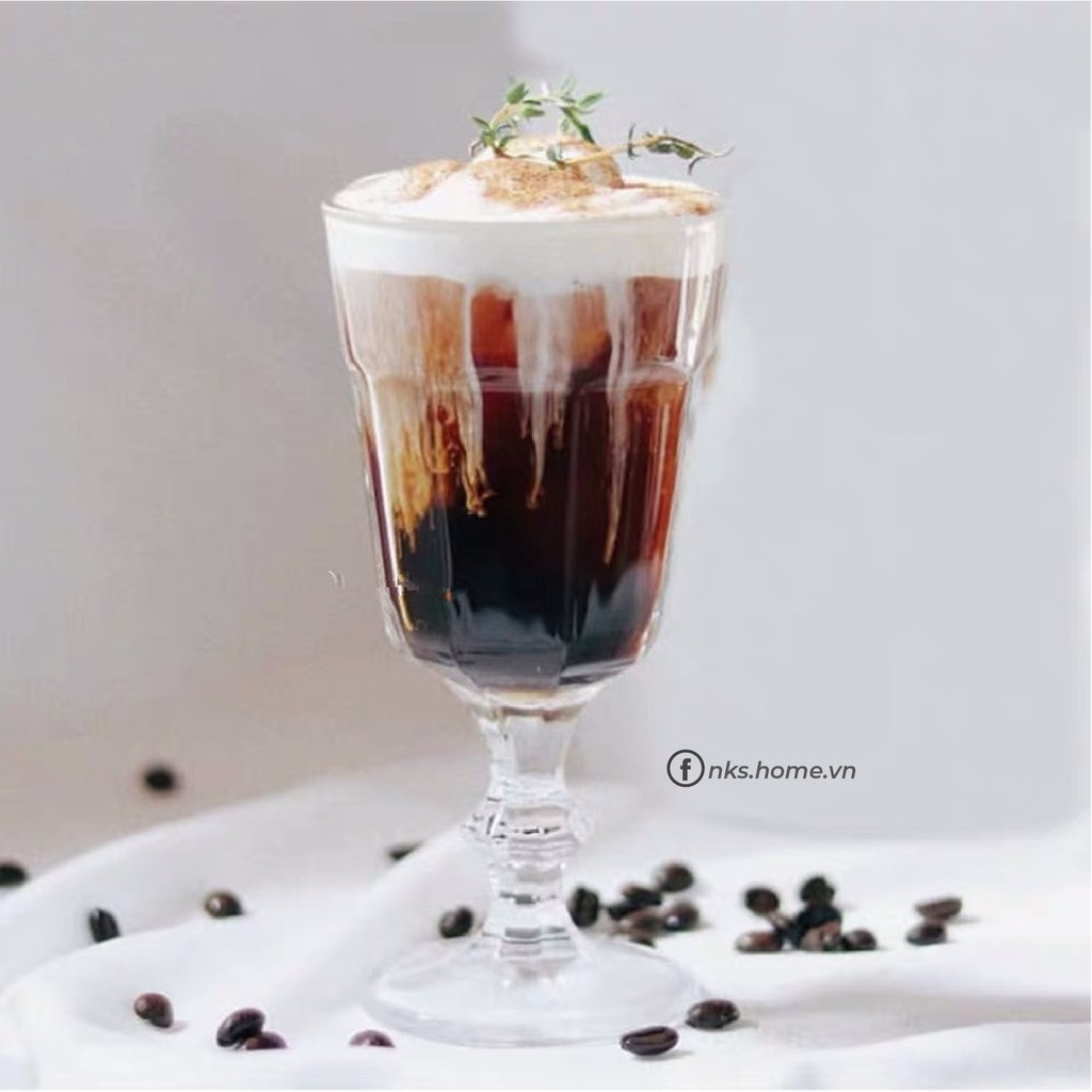 Ly thủy tinh - Ly cappuccino NKS.GL123 size 240ml - Nks.Home