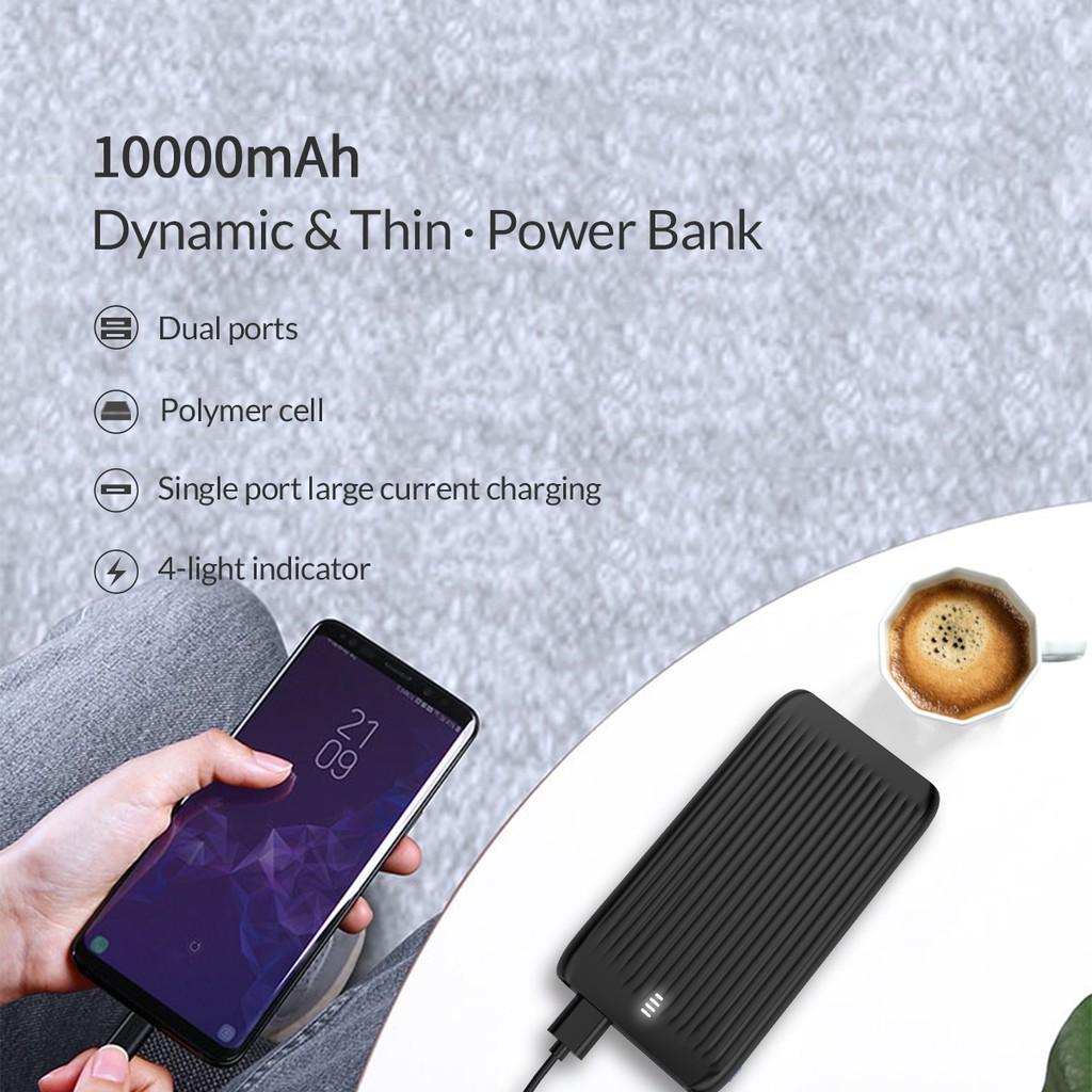 Pin Sạc dự phòng Polymer 10,000mAh ORICO K10S - Hàng Chính Hãng