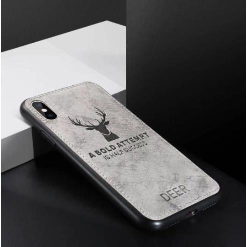 Ốp lưng Vải jean Deer Xiaomi note 10 lite / Redmi k30 pro / note 9s / note 9 pro 5g / note 8 pro K40 k40 pro K20 pro