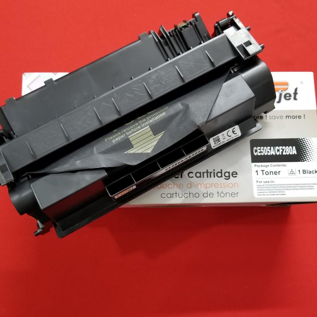Hộp mực 05A/80A  cho Hp 2035-2055D-M401d, 401dn, 401dne - Canon LBP 251DW-252DW-6650dn,6670DN-MF411