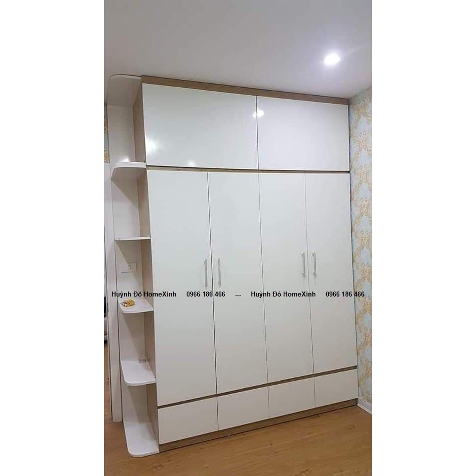 Nội thất phòng ngủ C56: Giường, tủ, tab, bàn trang điểm