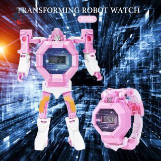 Đồng Hồ Đeo Tay Hình Robot Trong Transformer Quà Tặng Cho Bé