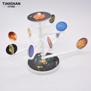 DIY Solar System 9 Major Planets Toy Students School Experiment Project Model