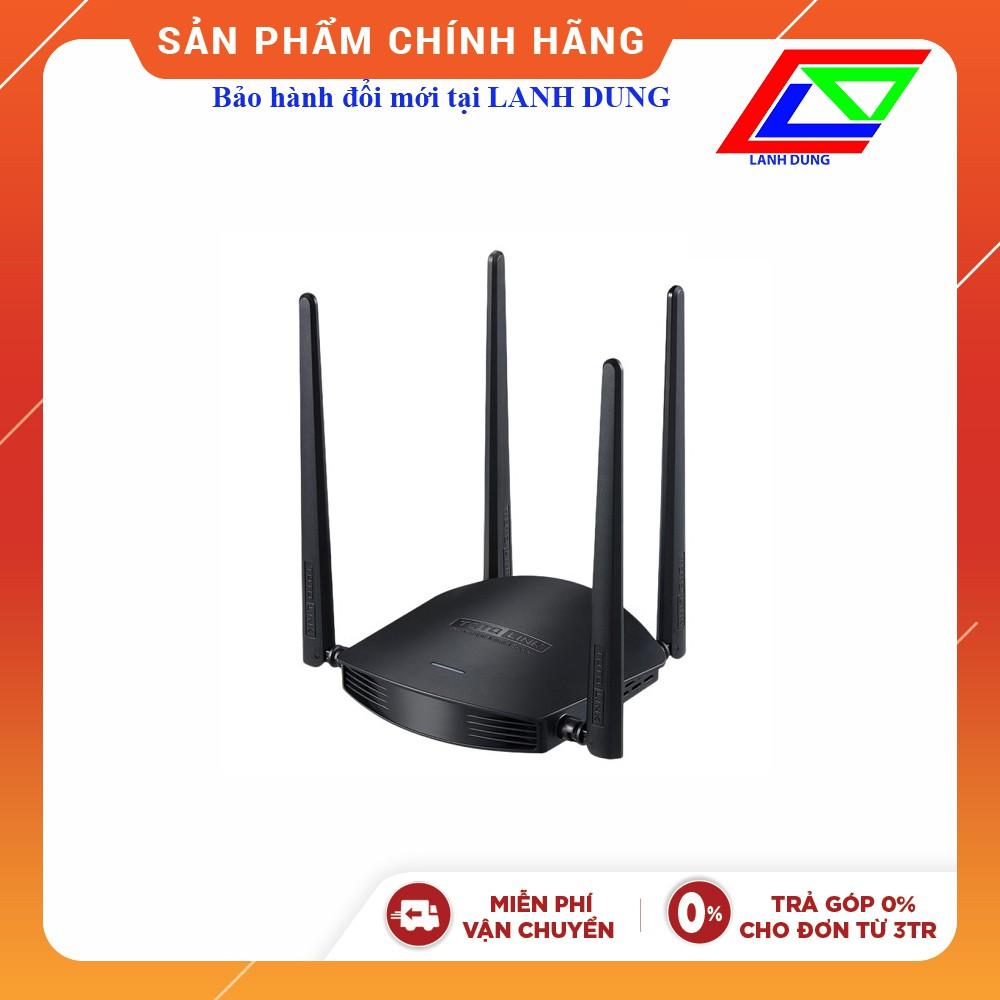 Router Wi-Fi băng tần kép AC1200 TOTOLINK A800R(chính hãng - BH đổi mới tại  Lanh Dung)