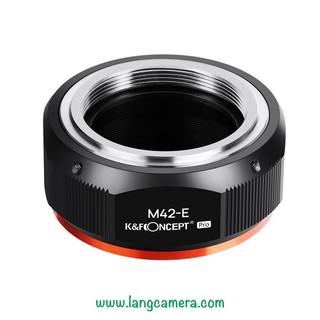 Ngàm chuyển ống kính M42-Nex Pro - hiệu K&F Concept