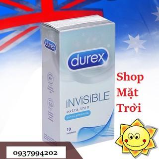 Bao cao su Mỏng vô hình thế hệ mới nhất Durex Invisible Extra Thin