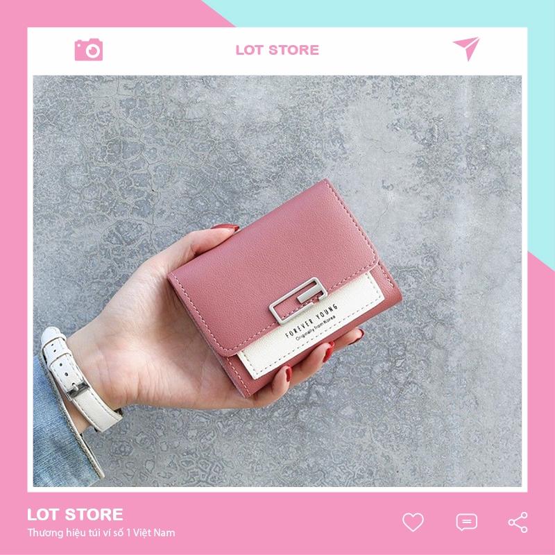 Ví nữ mini cao cấp cầm tay đẹp nhỏ gọn bỏ túi đựng tiền VD220