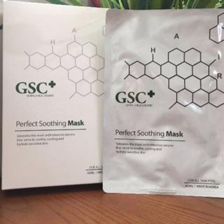 1 gói 2 màng mặt nạ giảm đỏ,giảm sưng sau lăn kim GSC+ thumbnail