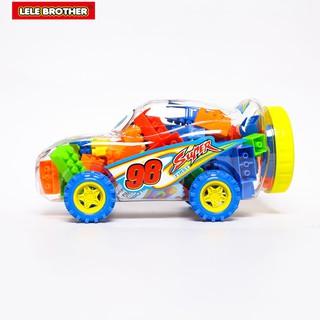 Hình ảnh Đồ chơi Lắp Ráp Xe Đua Siêu Tốc Độ Super Power Racing Car Lele Brother (8139-3)-3
