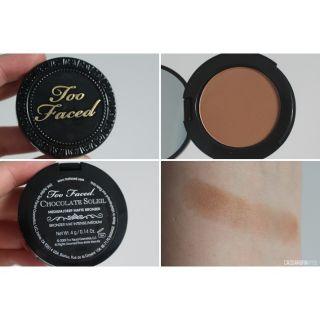 [Toofaced] Phấn tạo khối Too faced Chocolate Milk Soleil Matte Bronzer 2.5g vỏ nhựa thumbnail