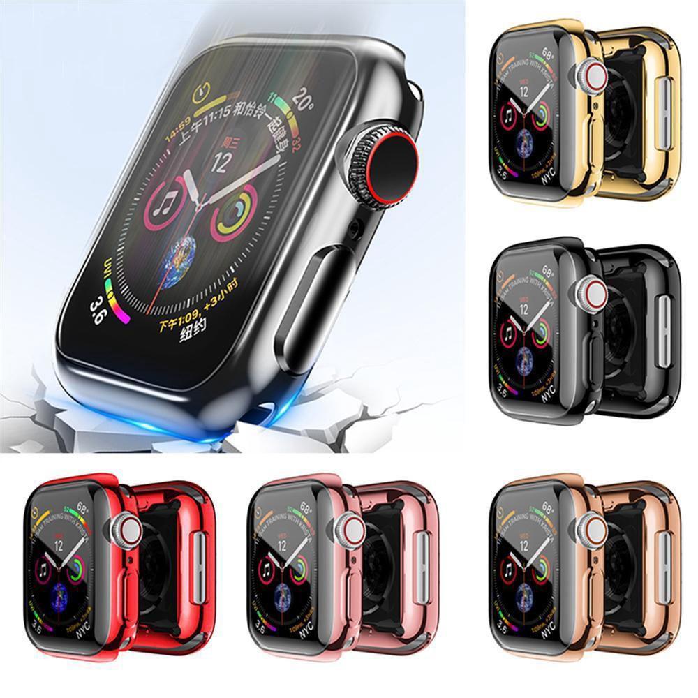 Ốp TPU Bảo Vệ Màn Hình Đồng Hồ Apple Watch Series 6/SE/5/4/3/2/1 Size 44mm
