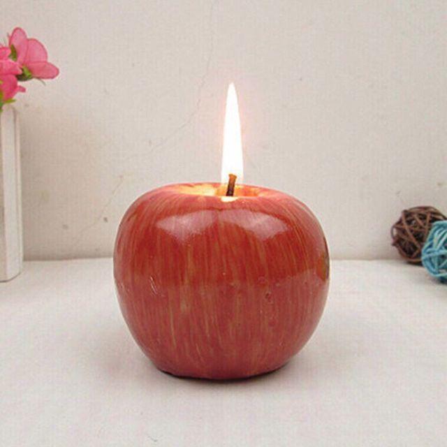 Nến táo thơm thắp Tết
