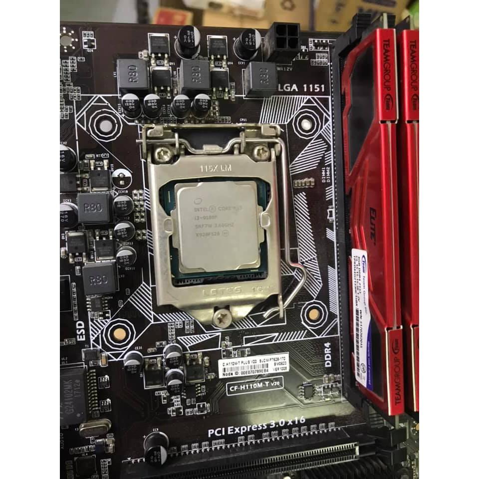 Combo H110 + i3 9100F