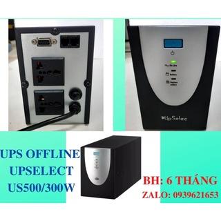 US500 - Bộ lưu điện UpSelec 500VA 300W (Có accu) thumbnail