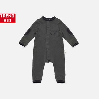 Sleepsuit cho bé trai bé gái từ 5 đến 19kg màu xám chì BABYWANT thumbnail