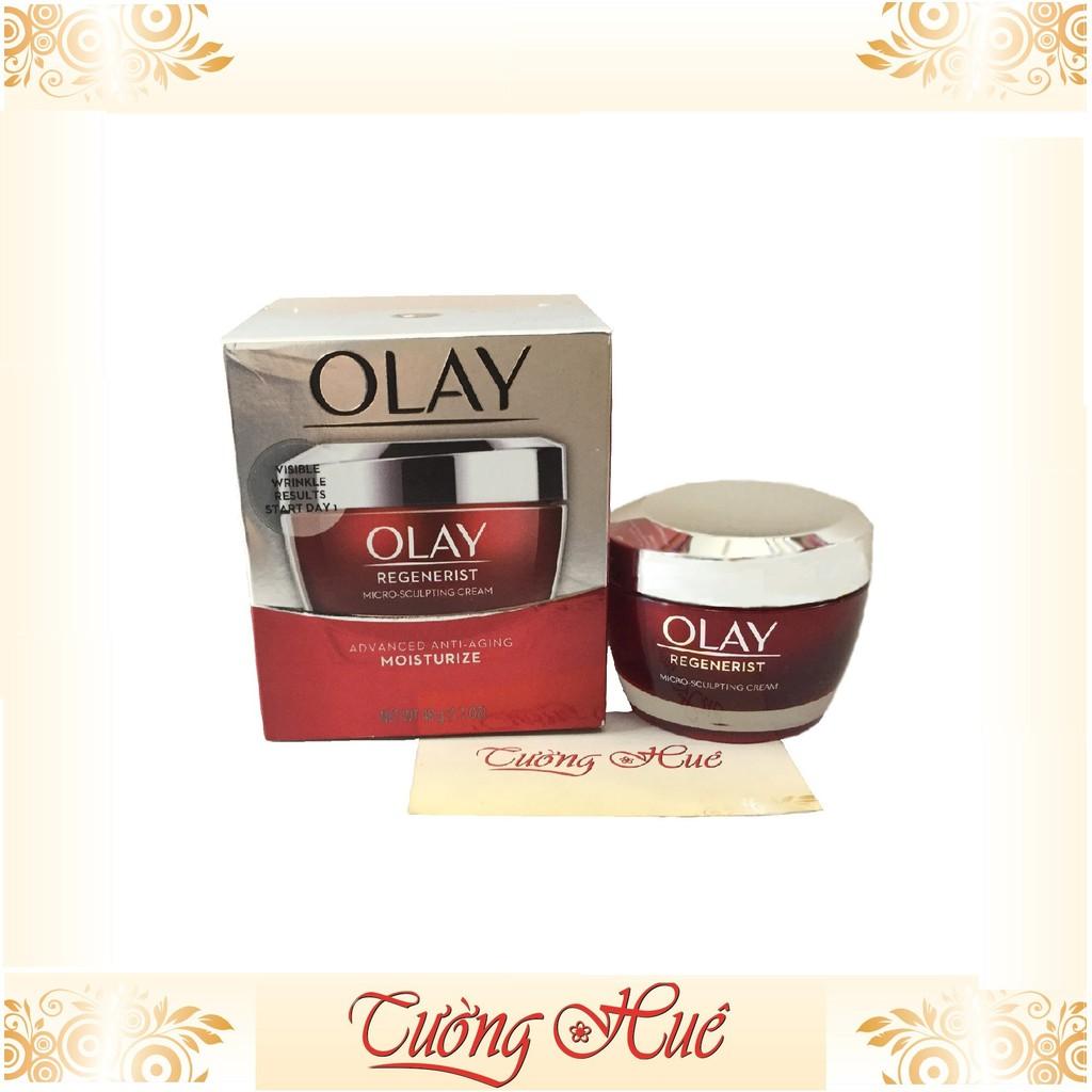 Kem dưỡng ẩm, chống lão hóa Olay Regenerist Micro-Sculpting Cream Advanced Anti-Aging Moisturize - 48g - đỏ - 22726989 , 1137739386 , 322_1137739386 , 355000 , Kem-duong-am-chong-lao-hoa-Olay-Regenerist-Micro-Sculpting-Cream-Advanced-Anti-Aging-Moisturize-48g-do-322_1137739386 , shopee.vn , Kem dưỡng ẩm, chống lão hóa Olay Regenerist Micro-Sculpting Cream Ad