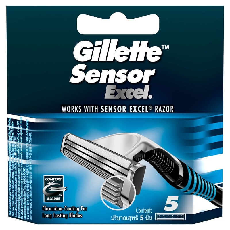Gillette Sensor EXCEL Cart 5S 1CSX72IT*5X12X6