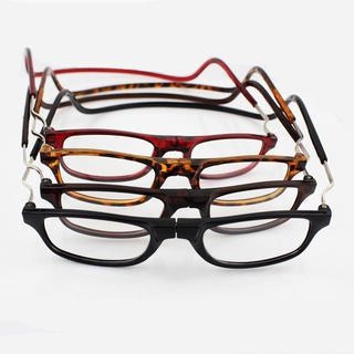 2018 Fashion Magnet Reading Glasses Can Be Hung Neck New Folding Glasses